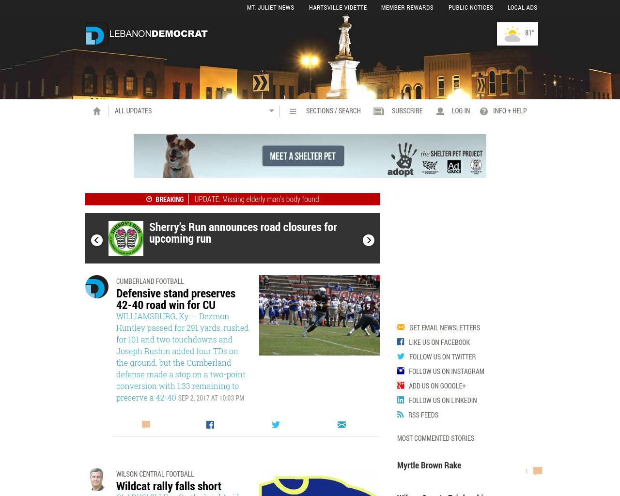 Lebanon-Democrat-&-Wilson-County-News-Advertising-Reviews-Pricing