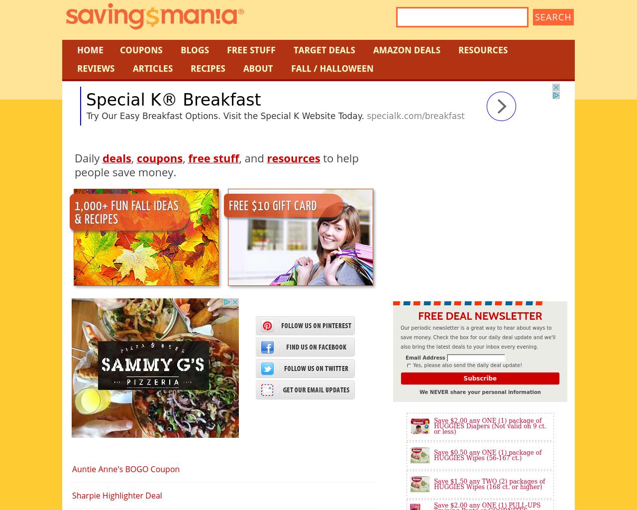 Savingsmania.com-Advertising-Reviews-Pricing