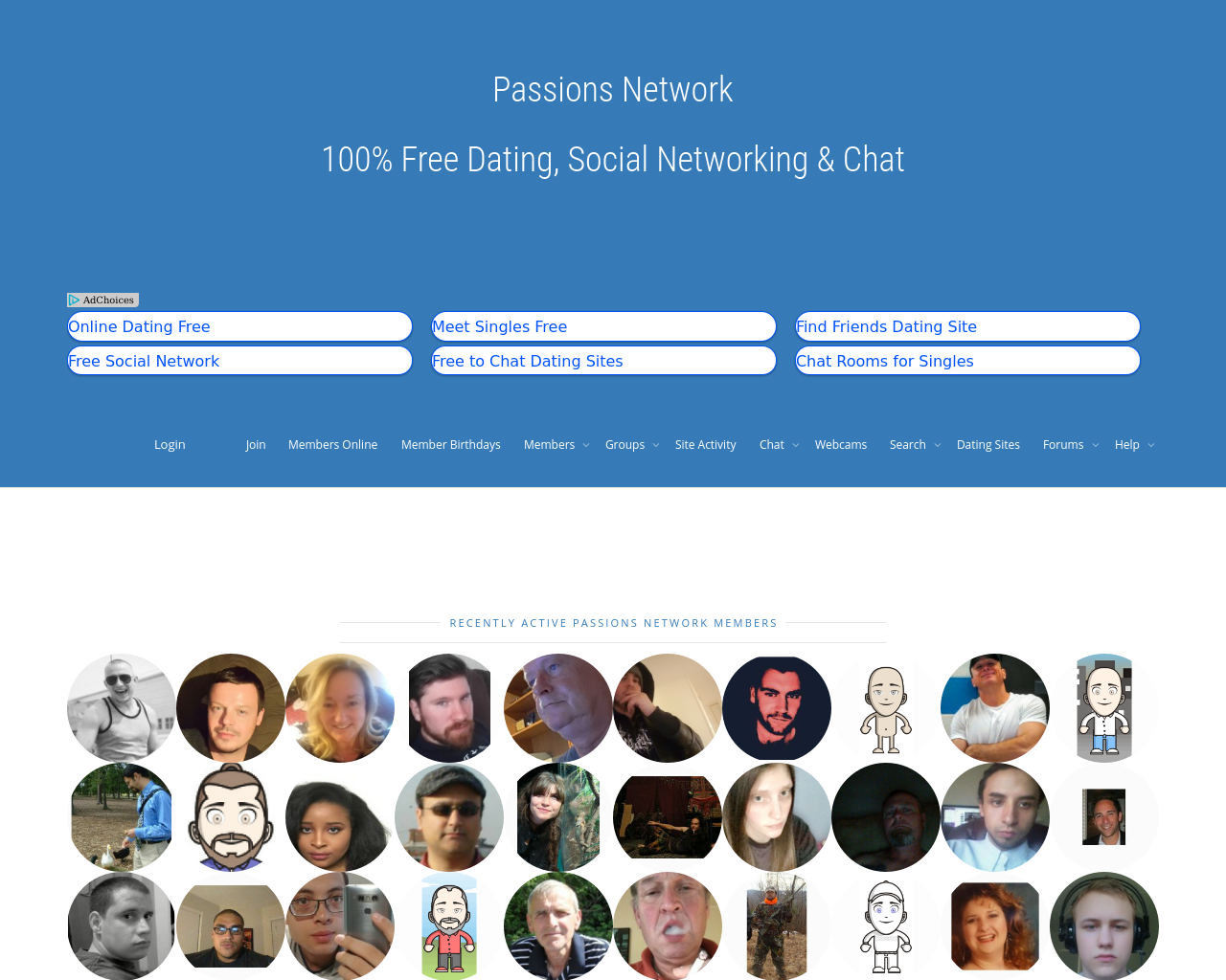 Passions-Network-Advertising-Reviews-Pricing