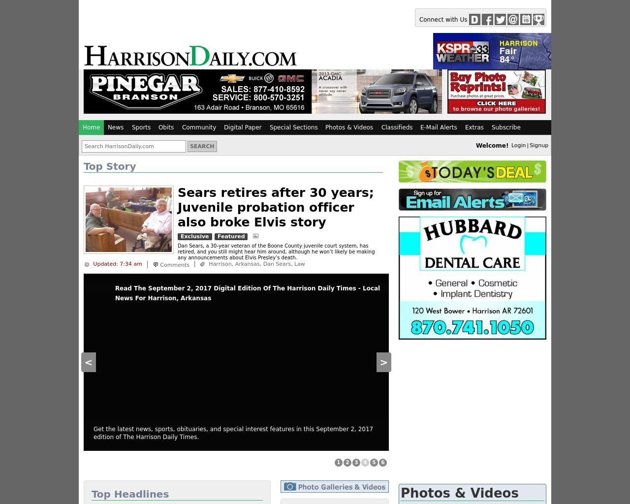 HARRISONDAILY.COM-Advertising-Reviews-Pricing
