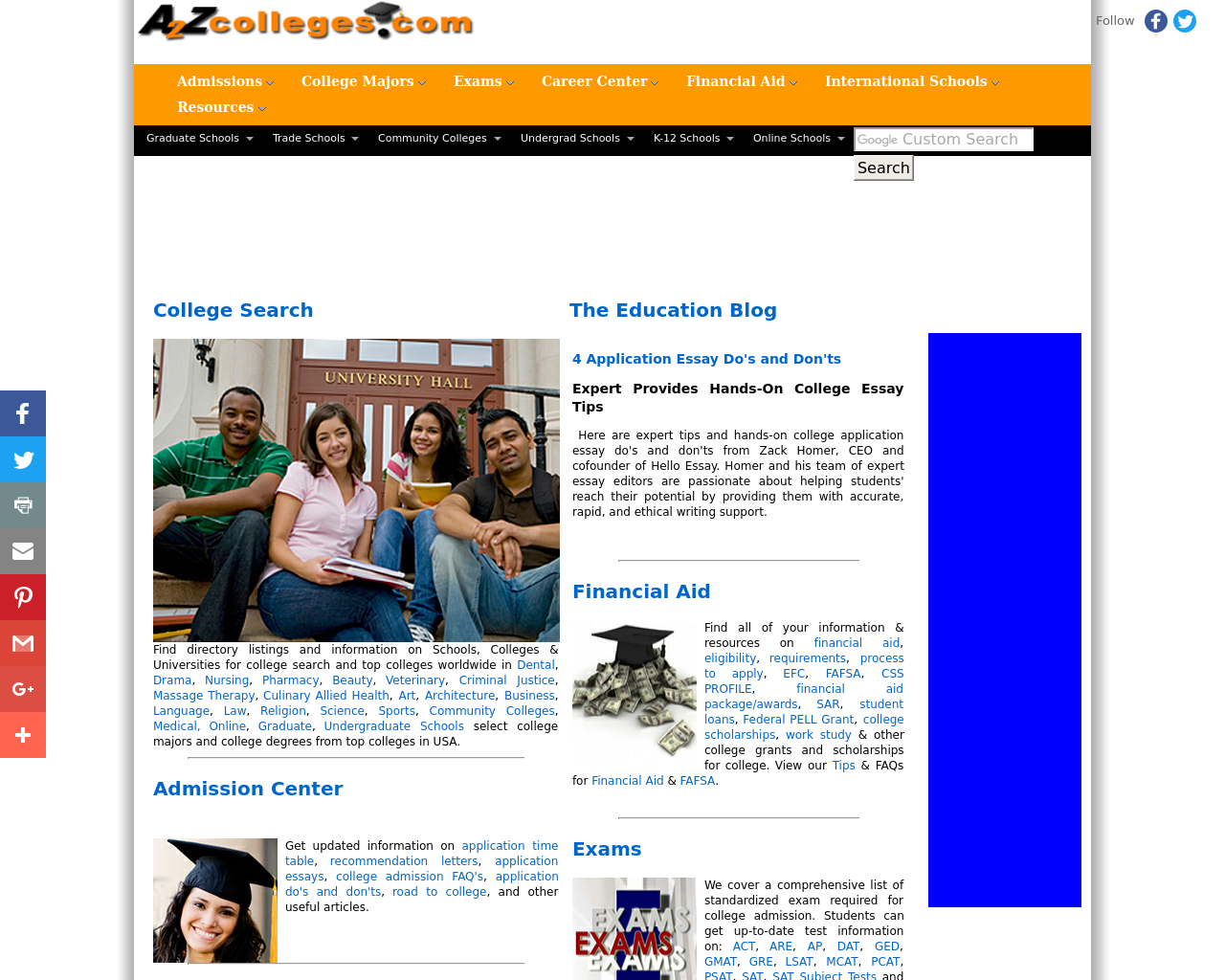 A2Z-Colleges-Advertising-Reviews-Pricing