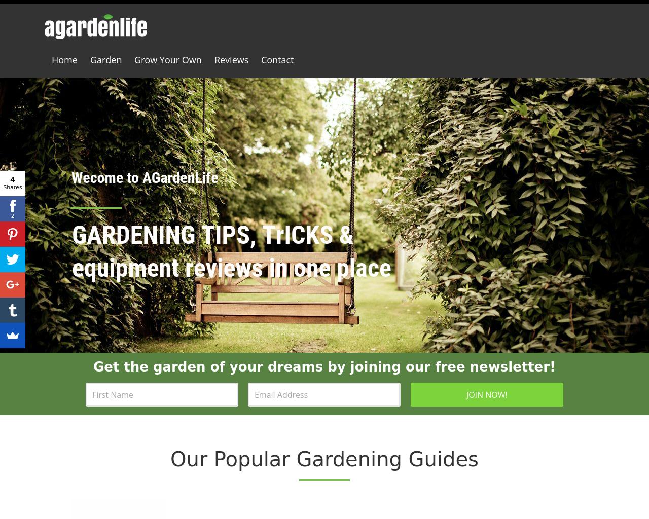 Agardenlife.com-Advertising-Reviews-Pricing