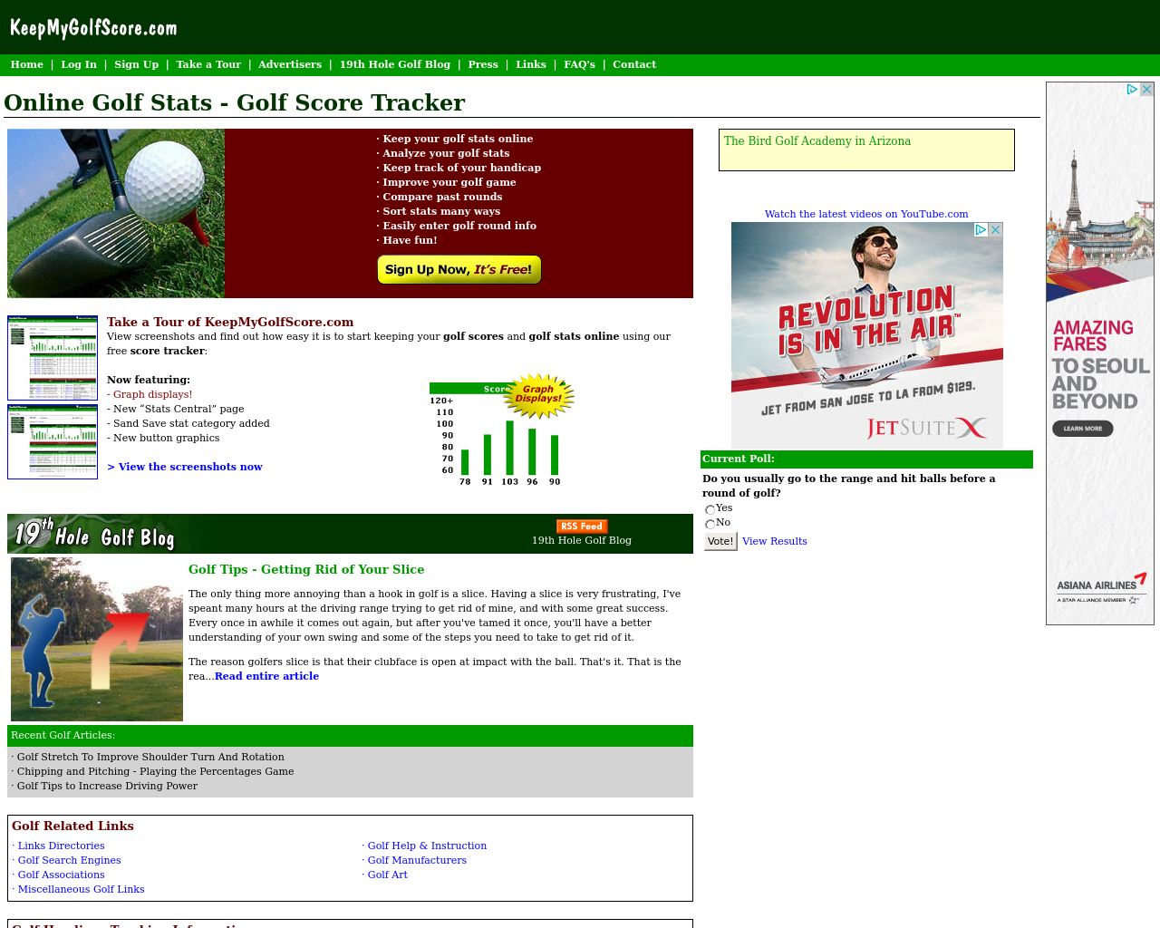 KeepMyGolfScore.com-Advertising-Reviews-Pricing