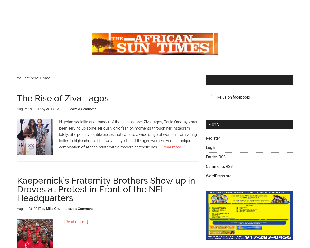The-African-Sun-Times-Advertising-Reviews-Pricing