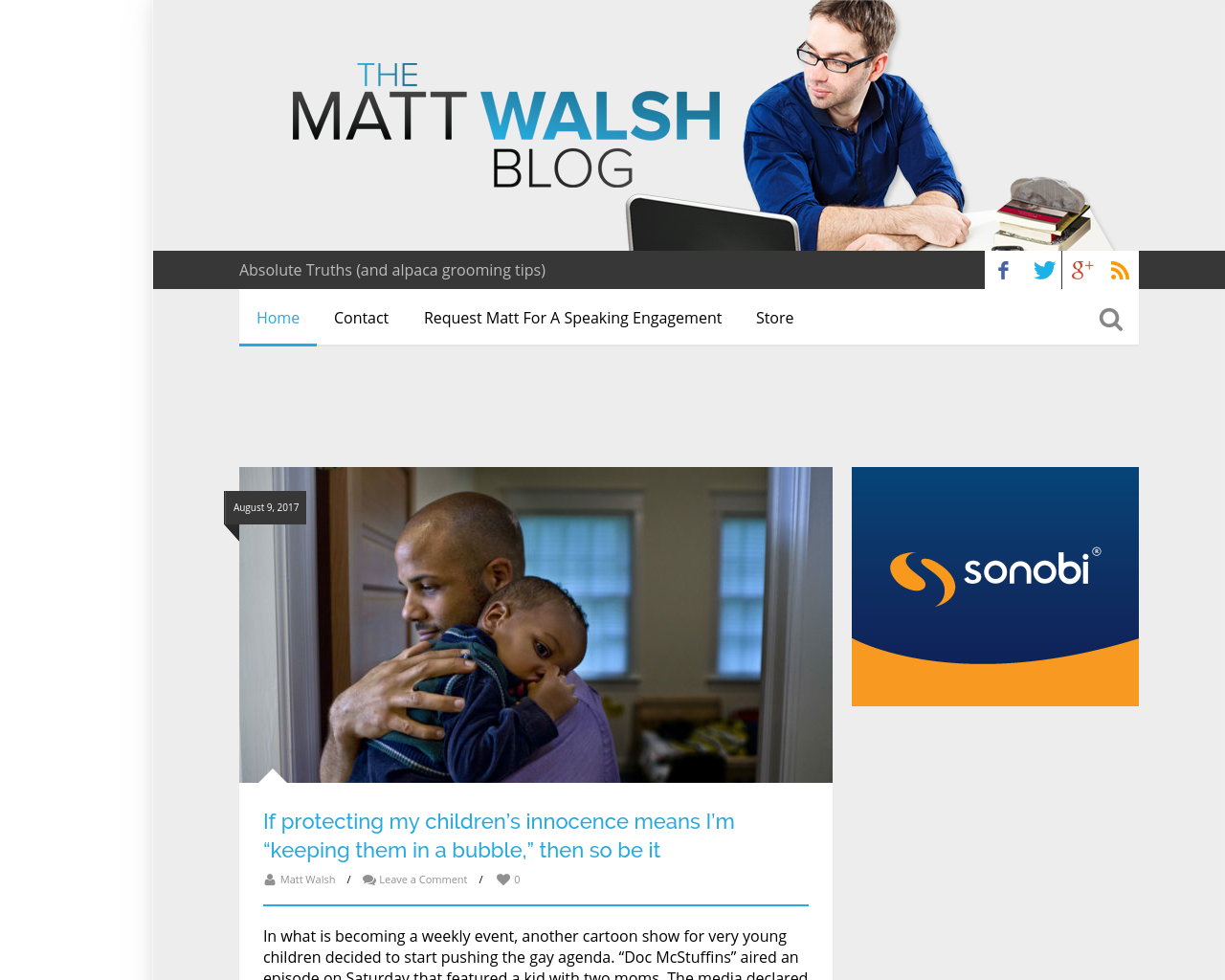 The-Matt-Walsh-Blog-Advertising-Reviews-Pricing