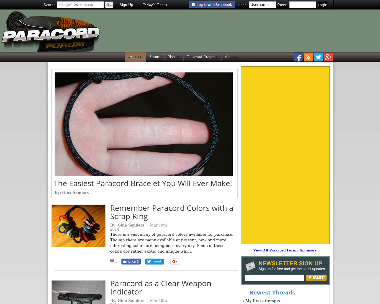 Paracord-Forum-Advertising-Reviews-Pricing