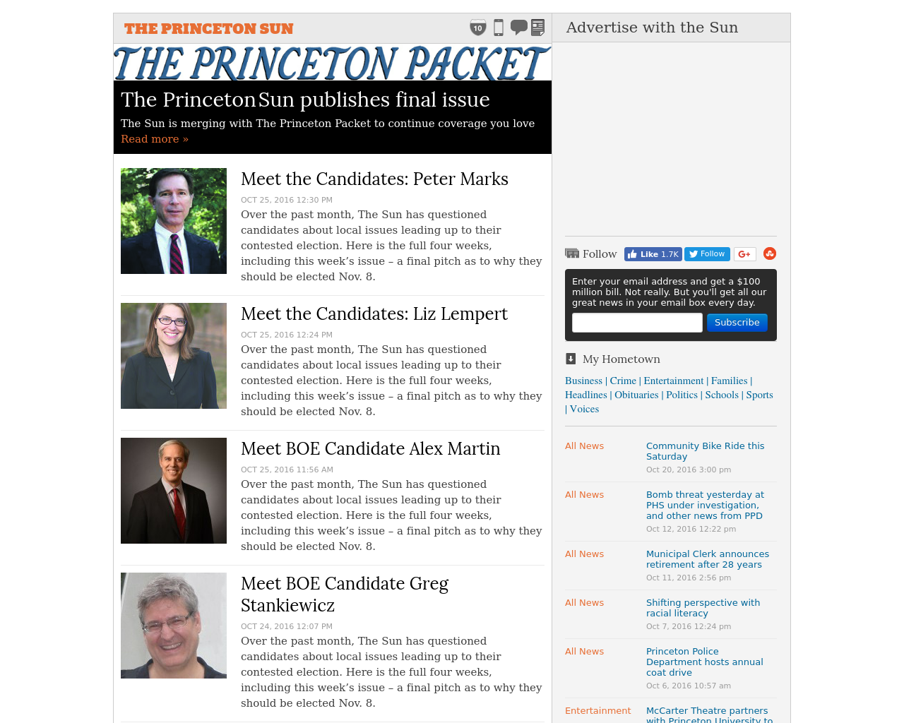 THE-PRINCETON-SUN-Advertising-Reviews-Pricing