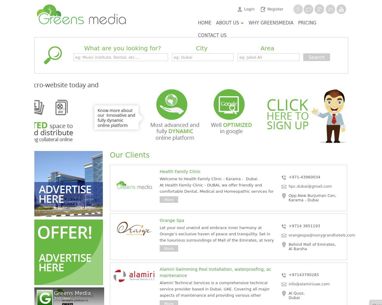 Greens-Media-Advertising-Reviews-Pricing