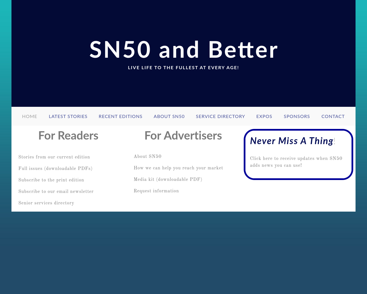 Sn50andbetter.com-Advertising-Reviews-Pricing