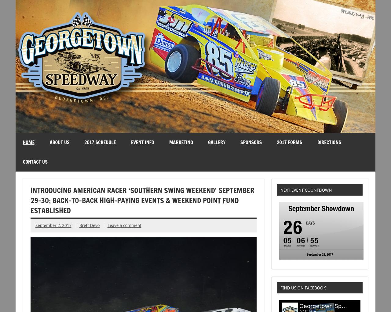 Georgetown-Speedway-Advertising-Reviews-Pricing