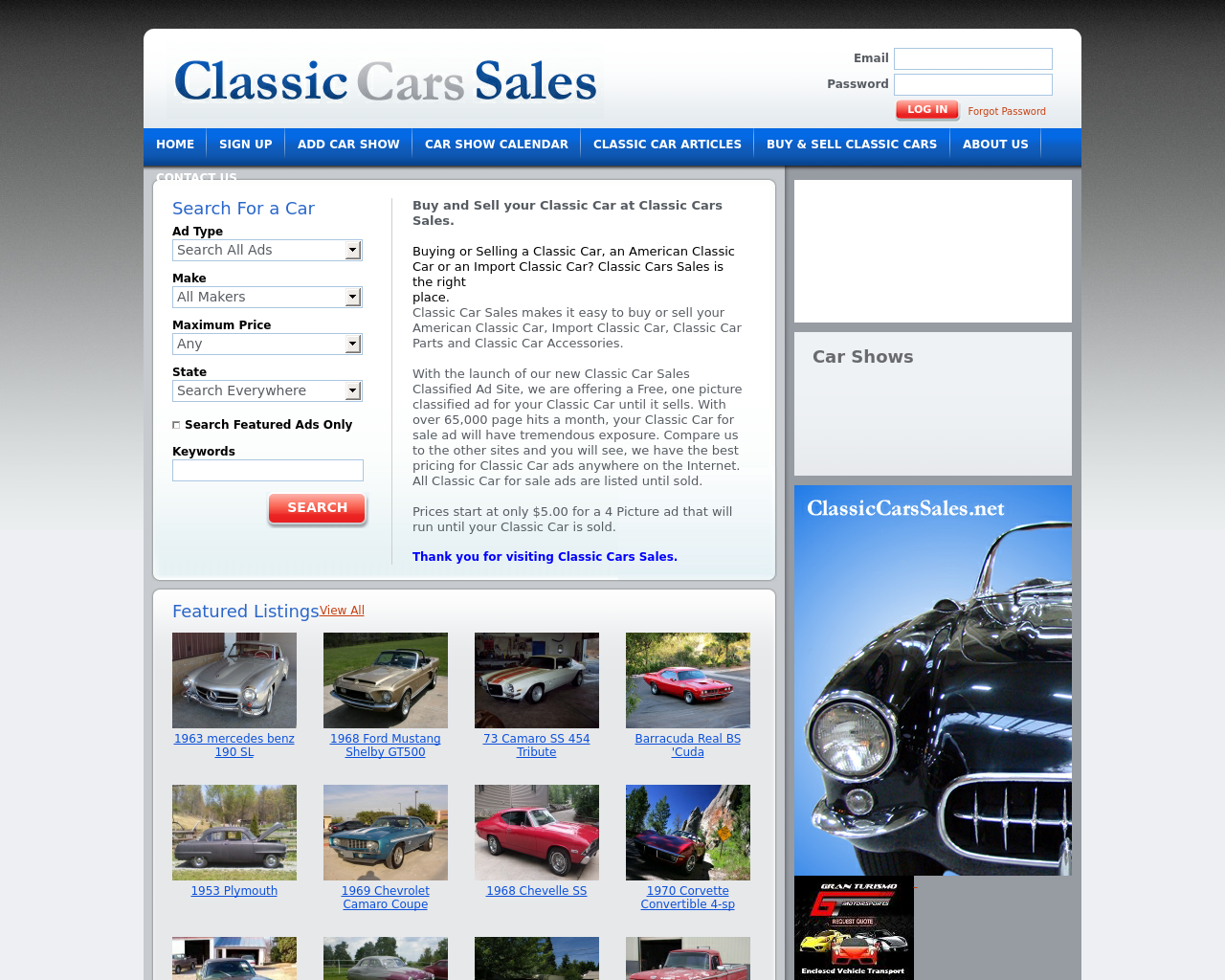 Classic-Cars-Sales-Advertising-Reviews-Pricing