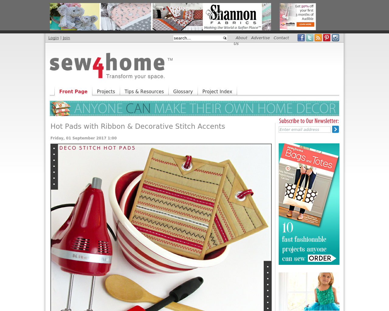 Sew4Home-Advertising-Reviews-Pricing