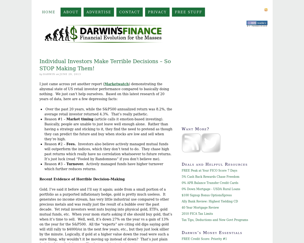 Darwin's-Finance-Advertising-Reviews-Pricing