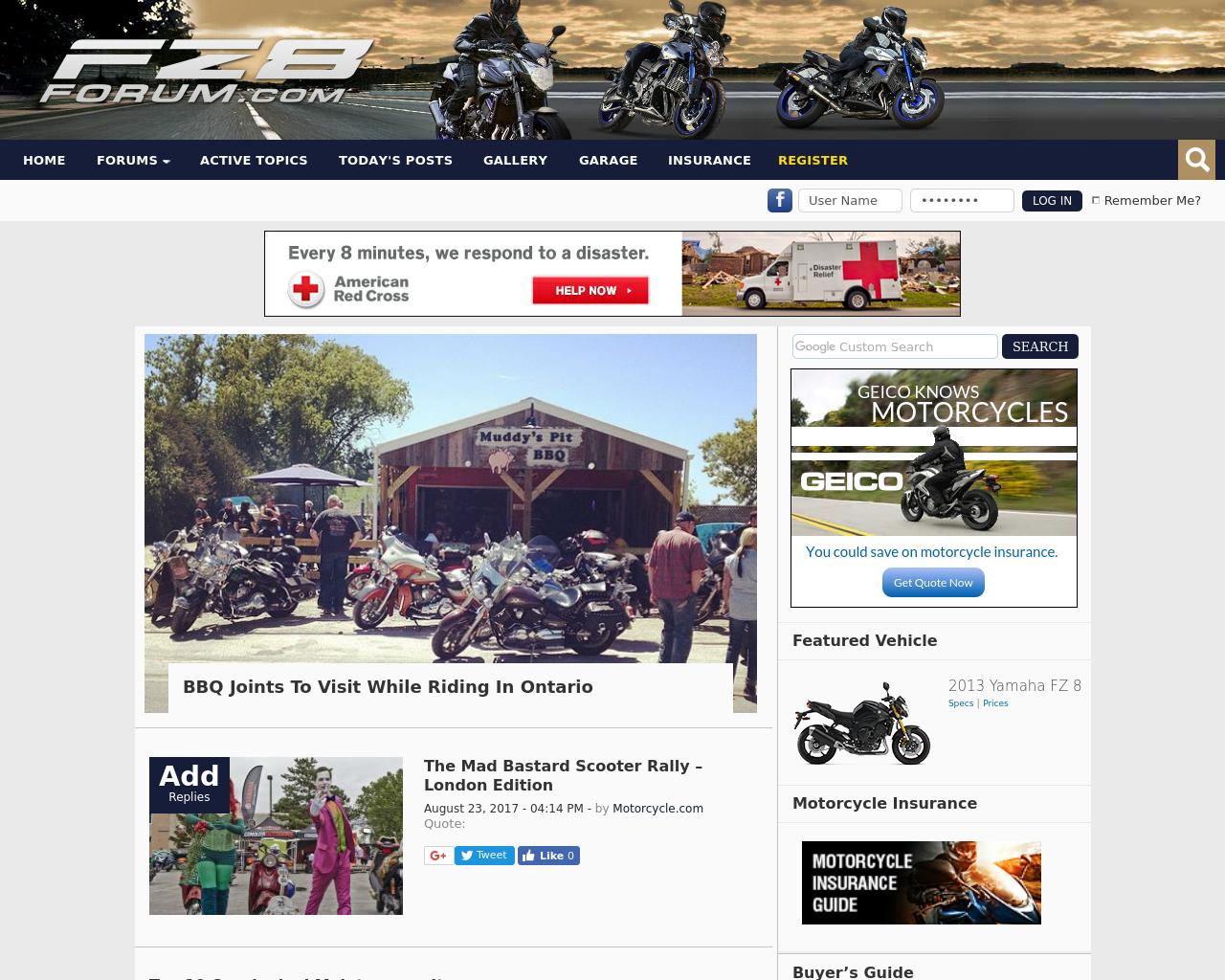 Yamaha-Fz8-Forum-Advertising-Reviews-Pricing
