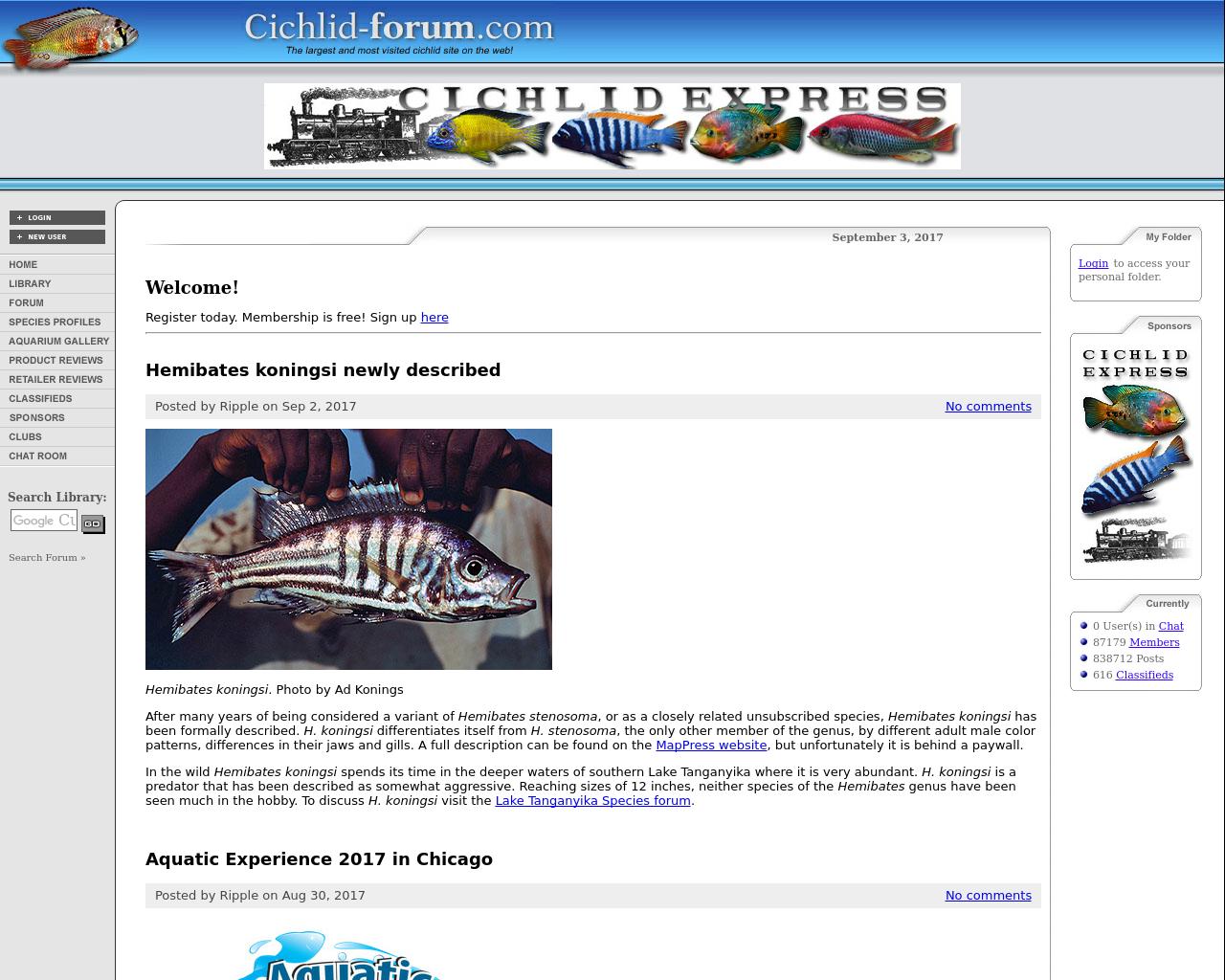 Cichlid-forum.com-Advertising-Reviews-Pricing