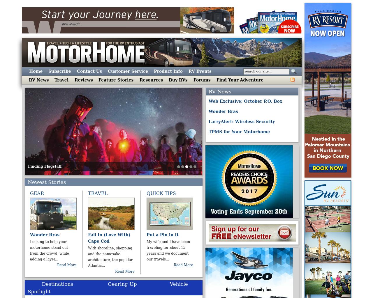 MOTORHOME-Advertising-Reviews-Pricing