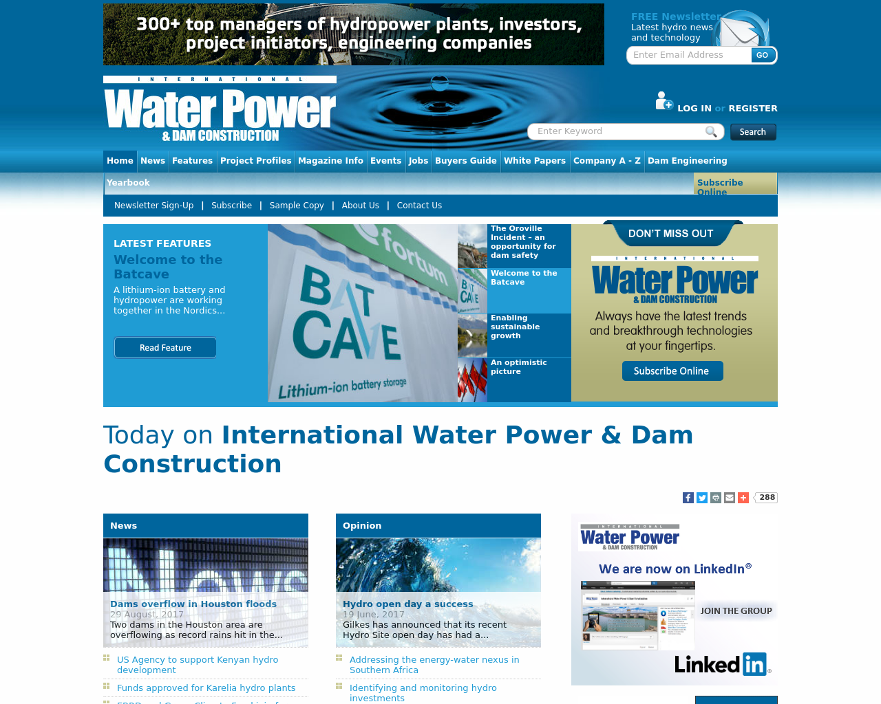 International-Water-Power-&-Dam-Construction-Advertising-Reviews-Pricing