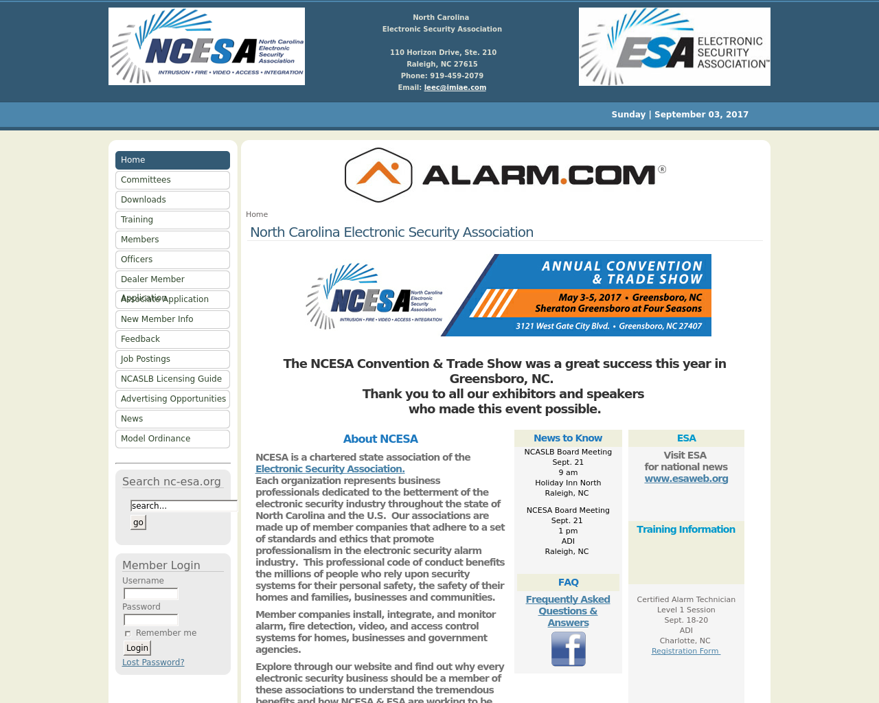 NCESA-North-Carolina-Electronic-Security-Association-Advertising-Reviews-Pricing
