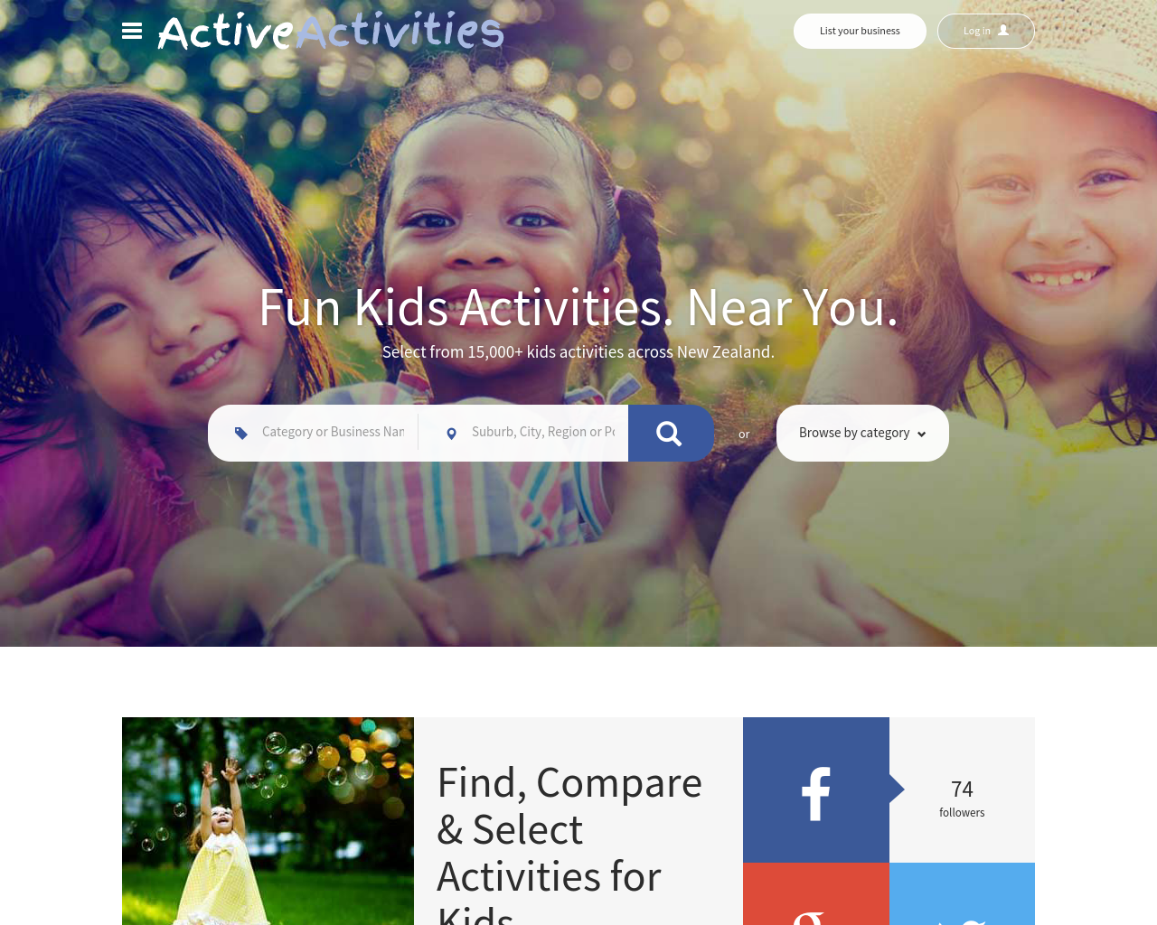 Active-Activities-Advertising-Reviews-Pricing