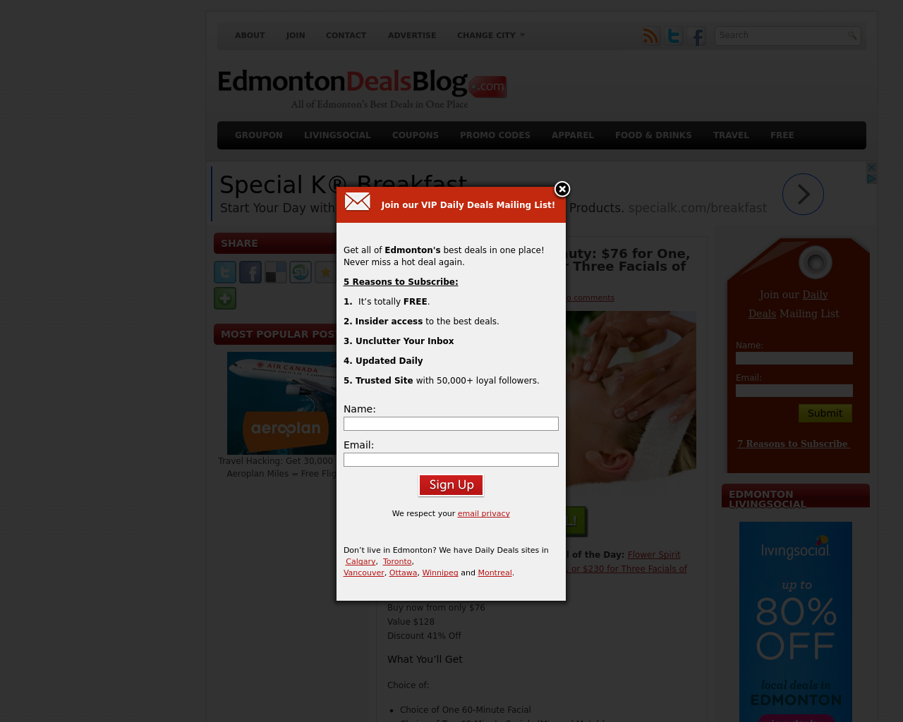 Edmonton-Deals-Blog-Advertising-Reviews-Pricing