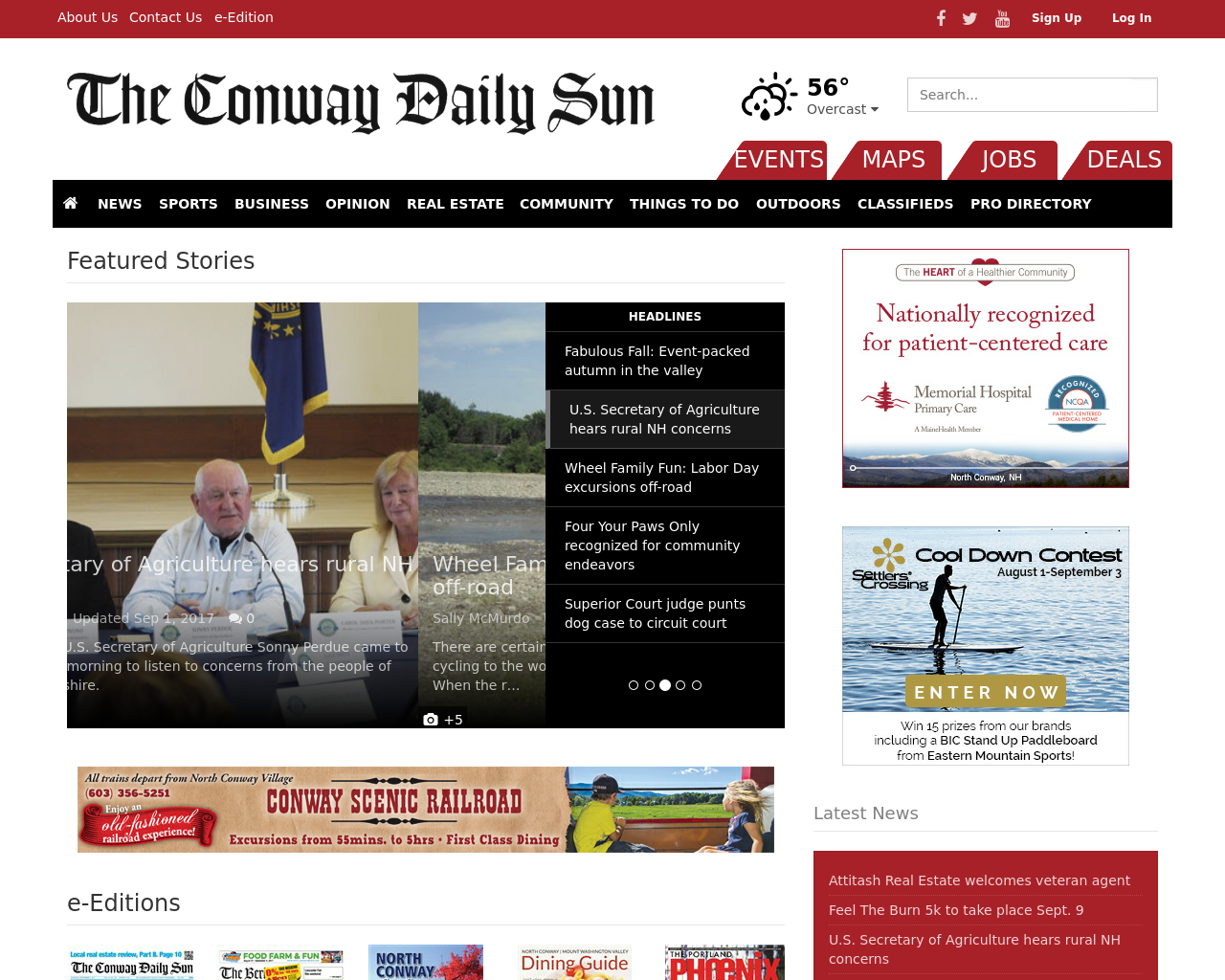 Conway-Daily-Sun-Advertising-Reviews-Pricing