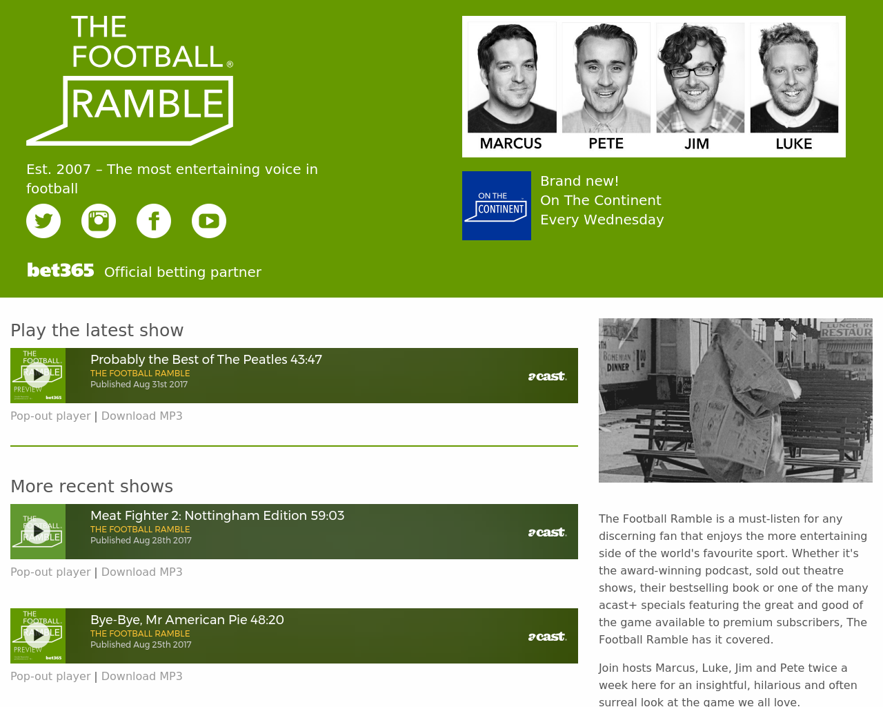The-Football-Ramble-Advertising-Reviews-Pricing