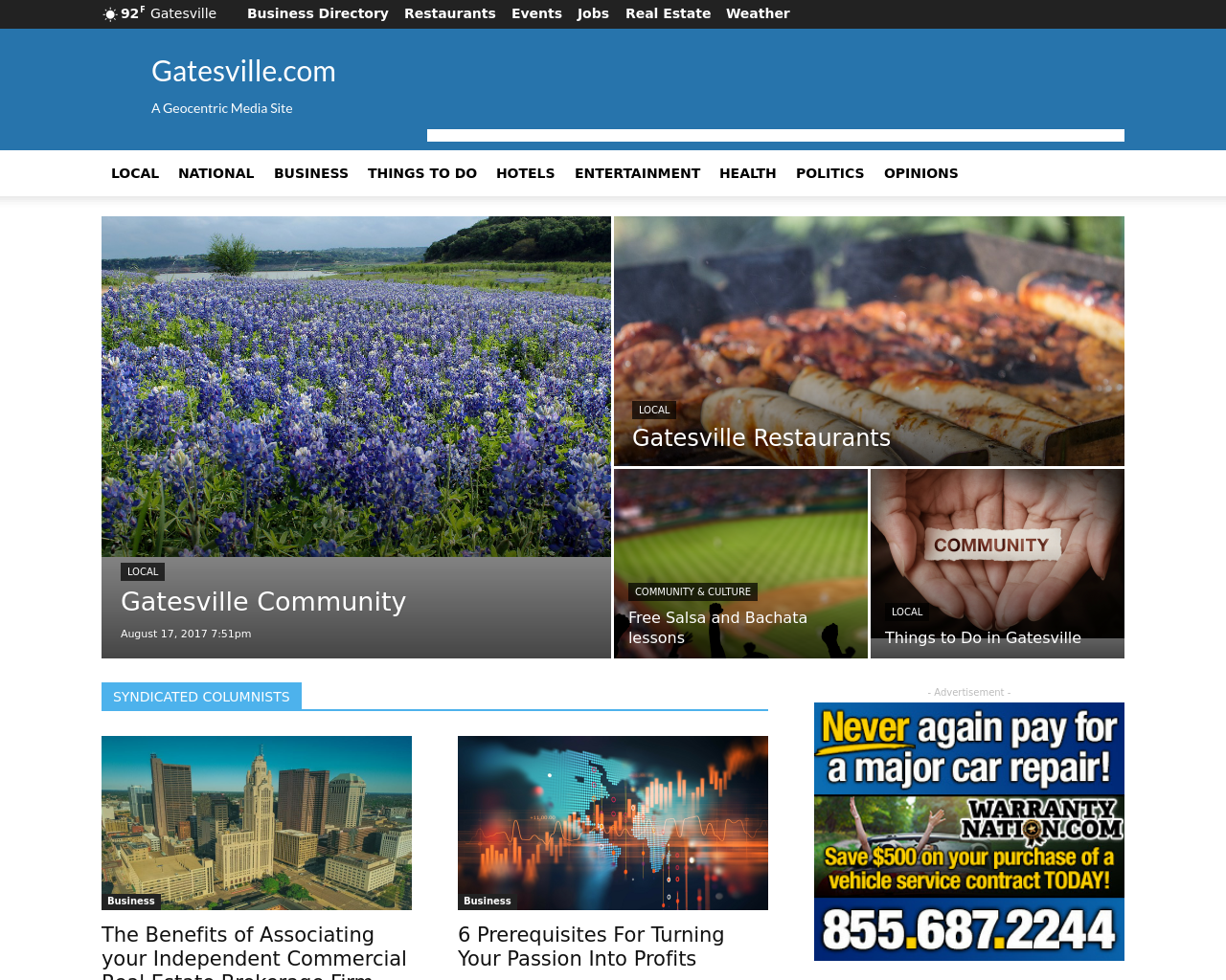 GATESVILLE.com-Advertising-Reviews-Pricing