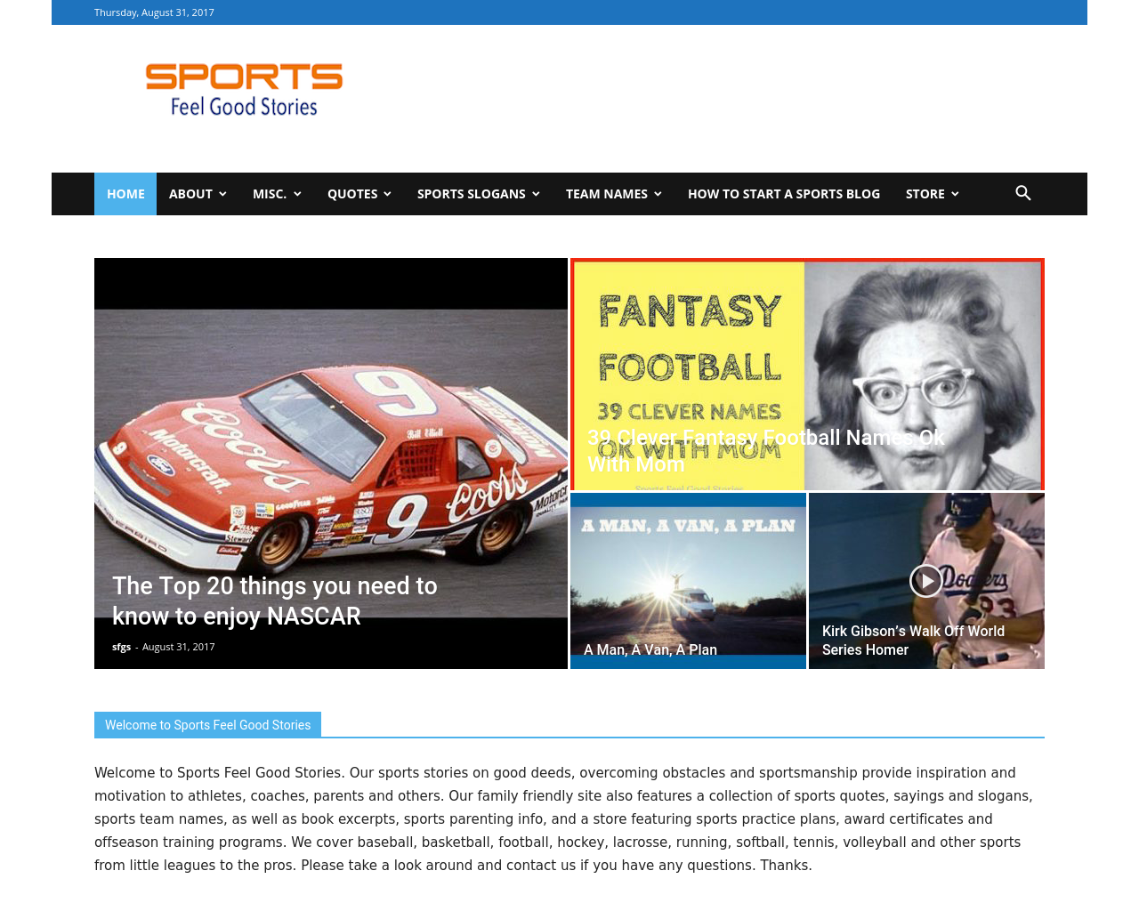 Sports-Feel-Good-Stories-Advertising-Reviews-Pricing