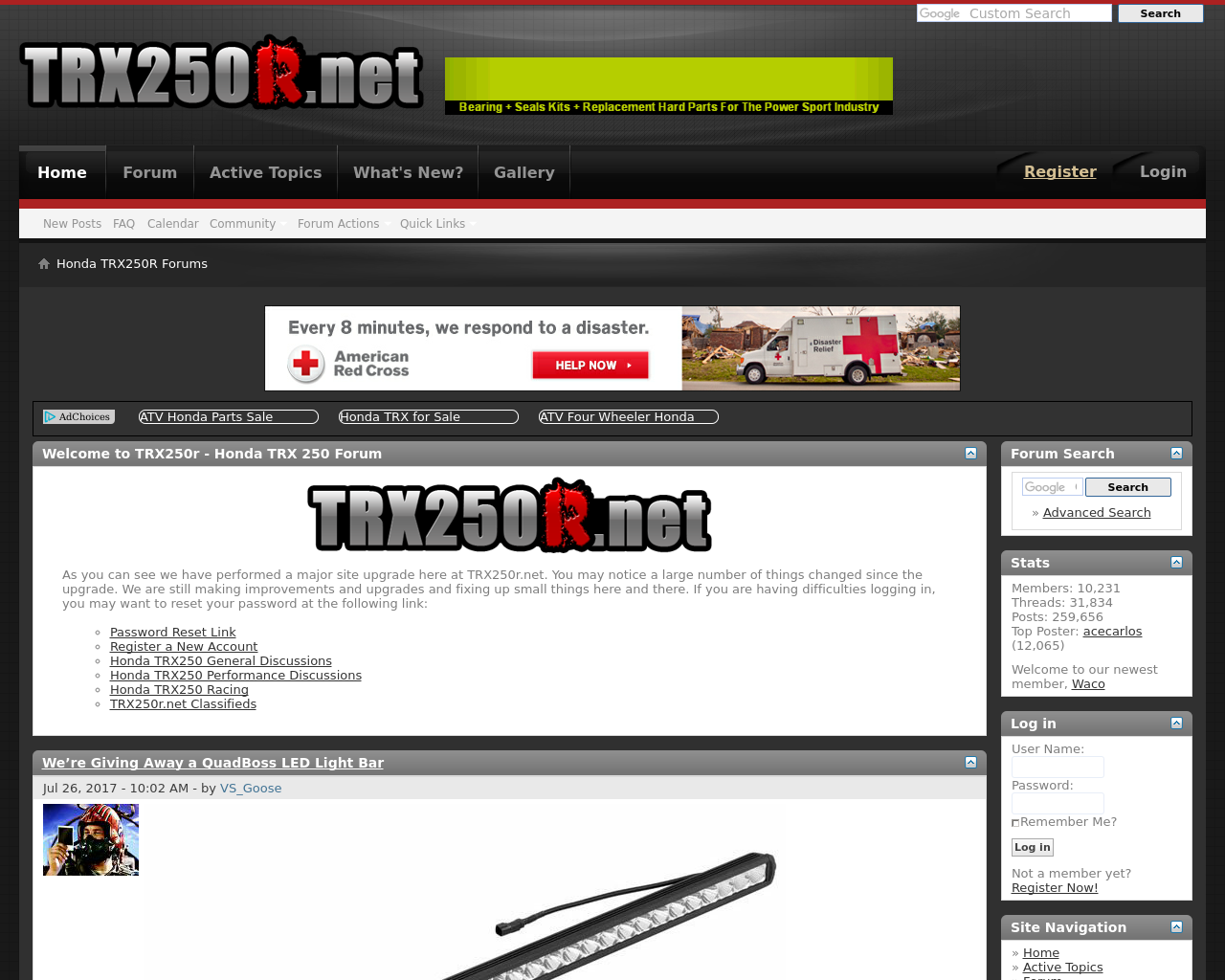 Honda-TRX250R-Forums-Advertising-Reviews-Pricing