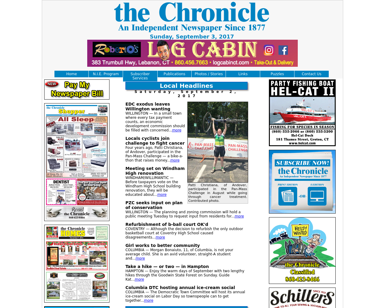 The-Chronicle-Advertising-Reviews-Pricing