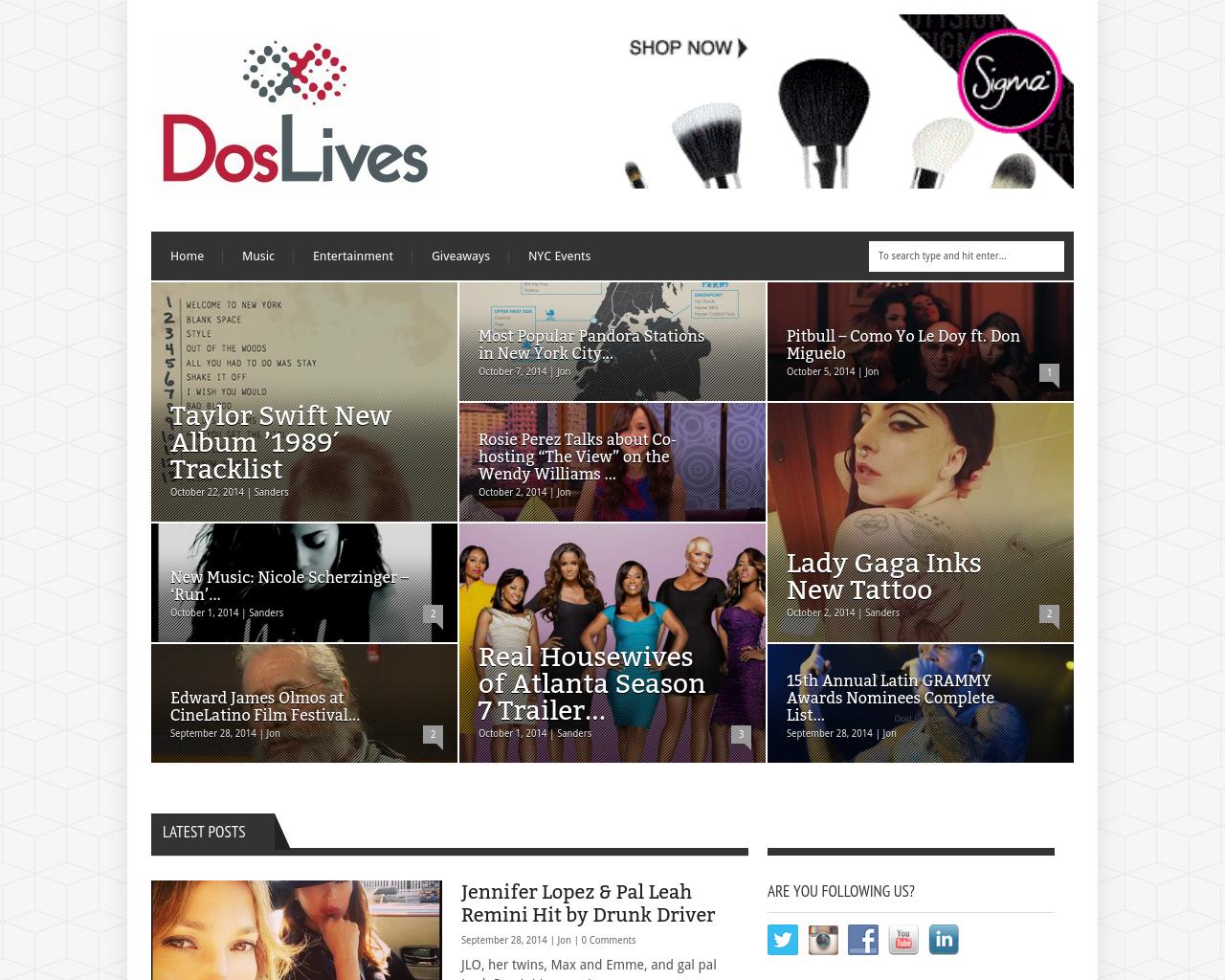 Doslives.com-Advertising-Reviews-Pricing