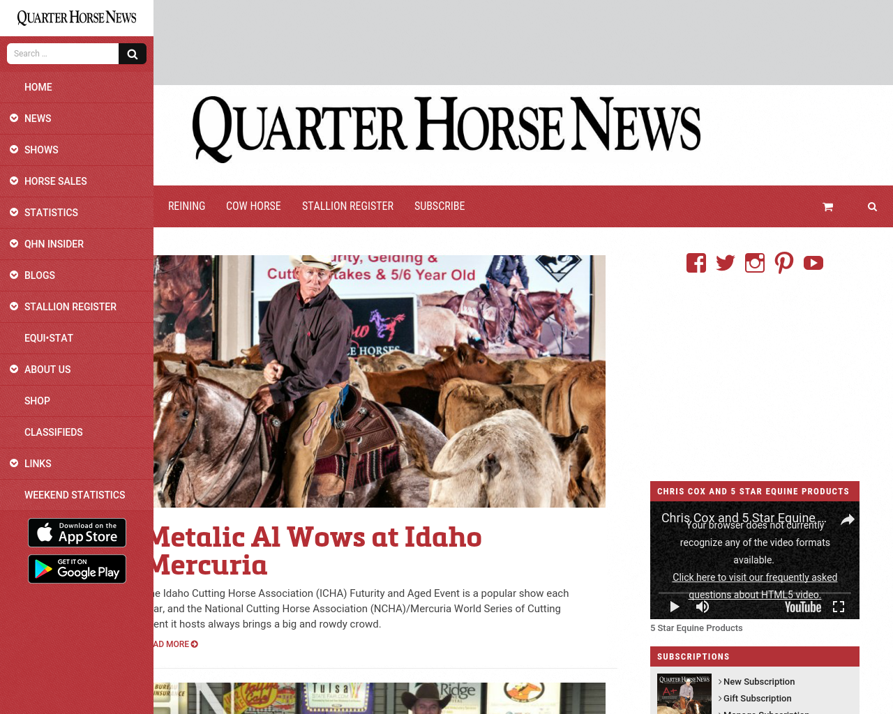 Quarter-Horse-News-Advertising-Reviews-Pricing