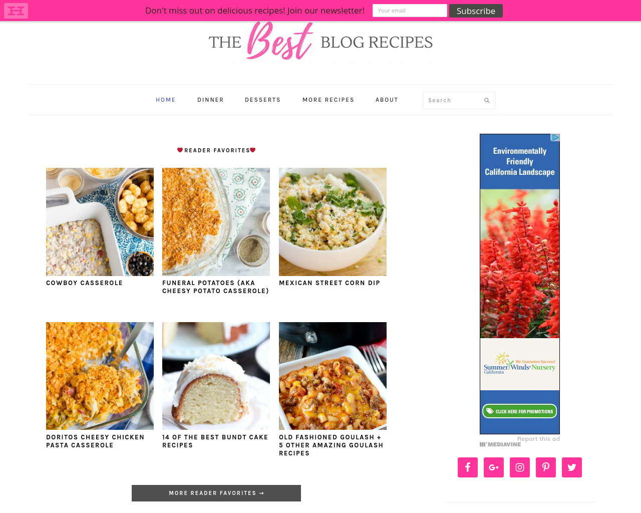 The-Best-Blog-Recipes-Advertising-Reviews-Pricing