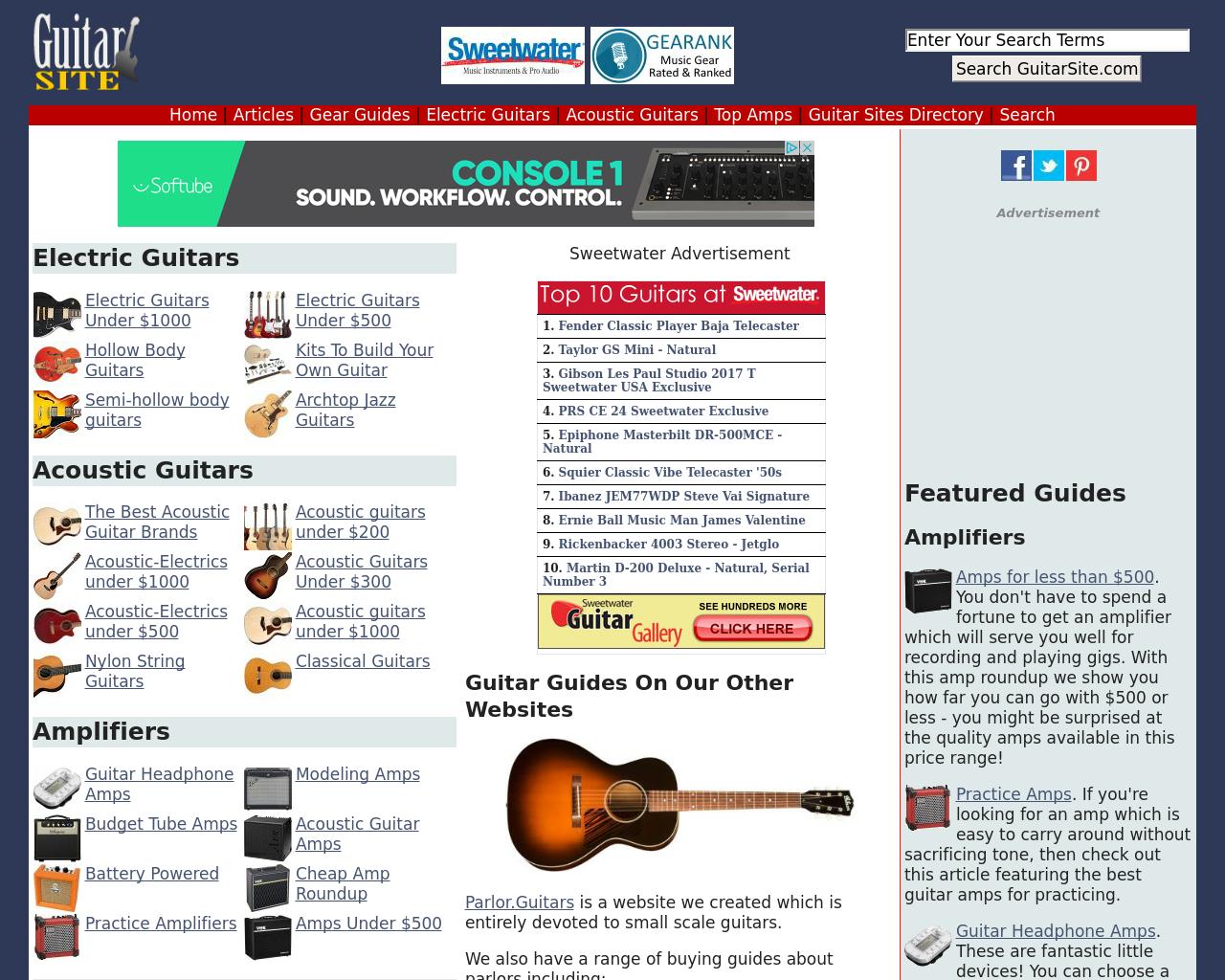 GuitarSite.com-Advertising-Reviews-Pricing