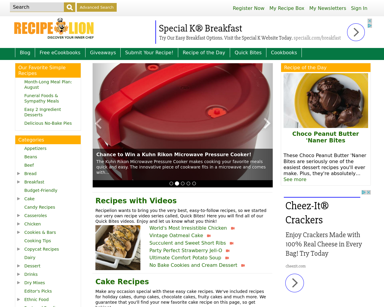 Recipe-Chatter-Advertising-Reviews-Pricing