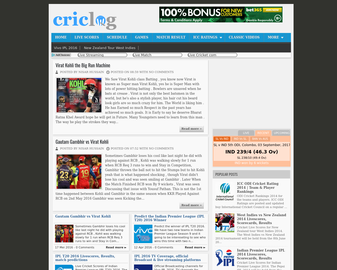 Criclog-Advertising-Reviews-Pricing
