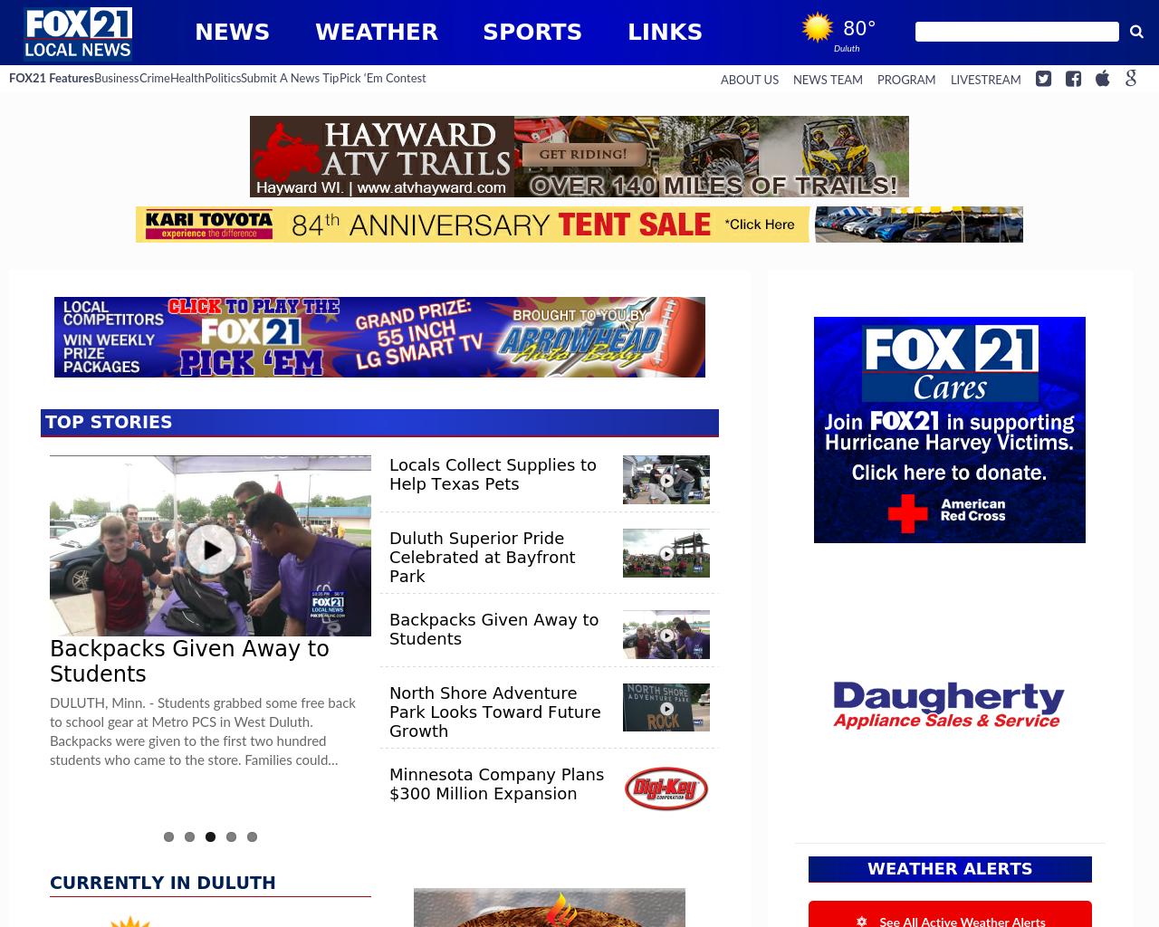 FOX-21-KQDS-Advertising-Reviews-Pricing