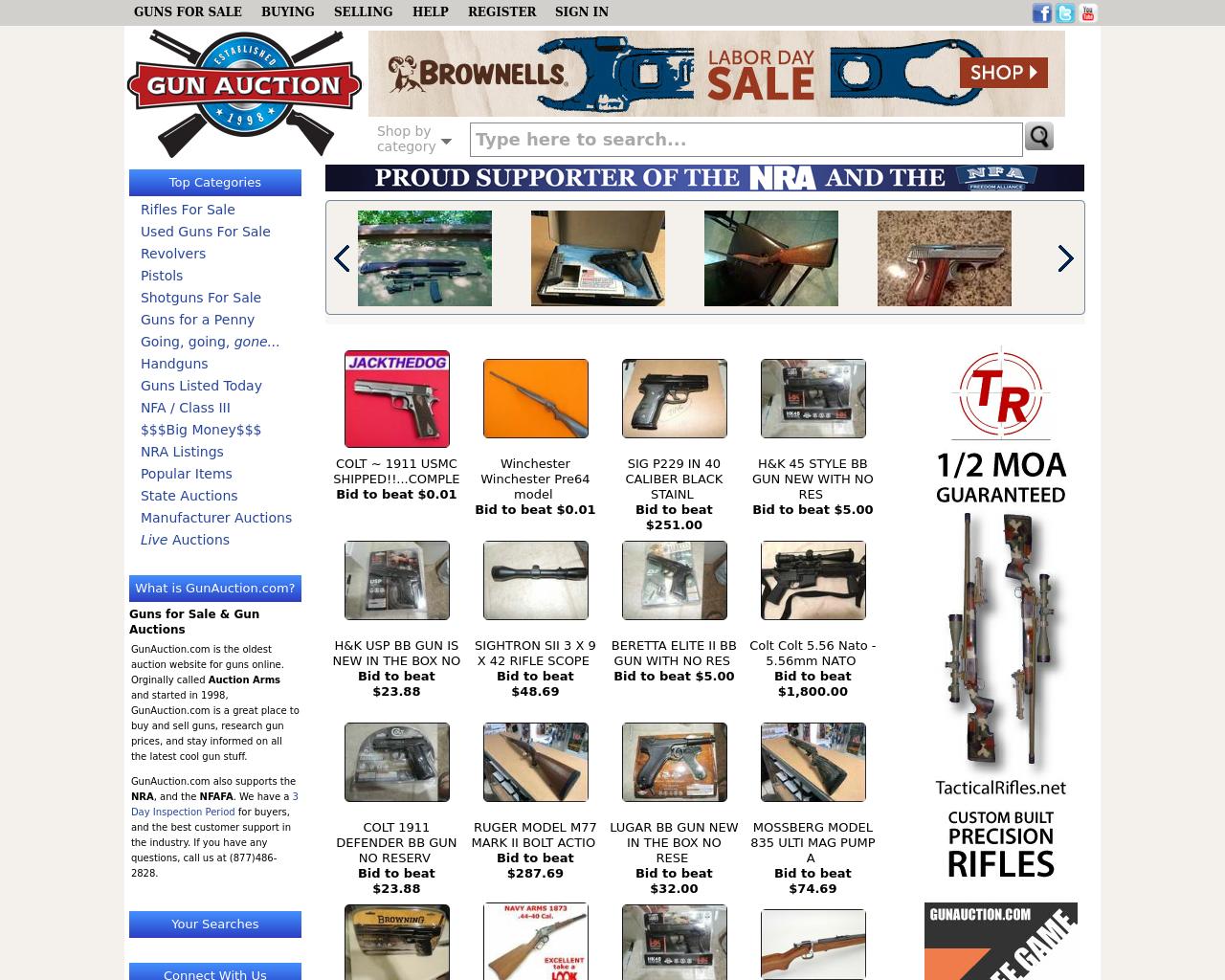 Gun-Auction-Advertising-Reviews-Pricing