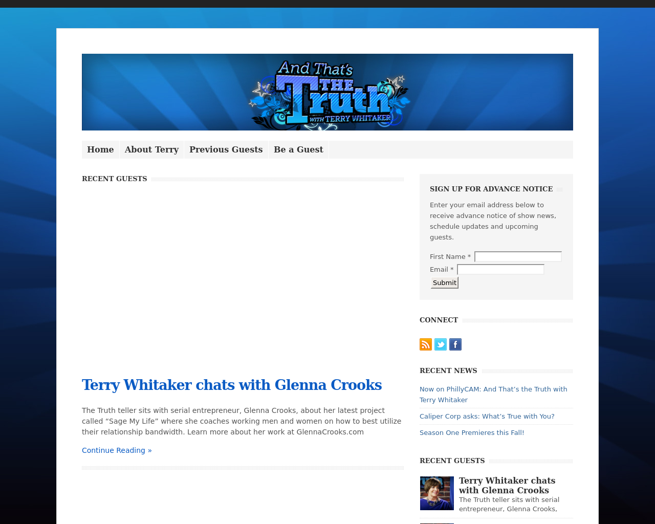 And-That's-The-Truth-With-TERRY-WHITAKER-Advertising-Reviews-Pricing