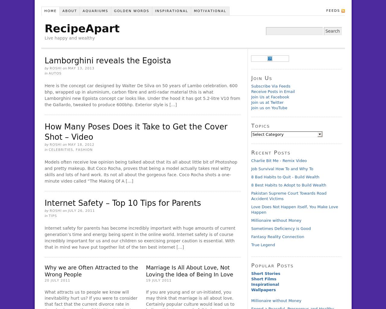 RecipeApart-Advertising-Reviews-Pricing