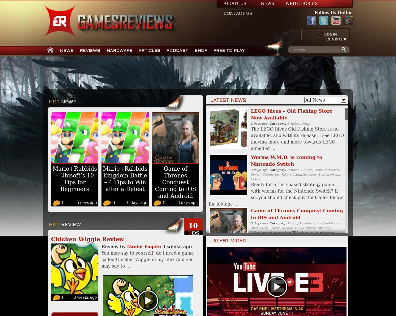 Games-Reviews-Advertising-Reviews-Pricing