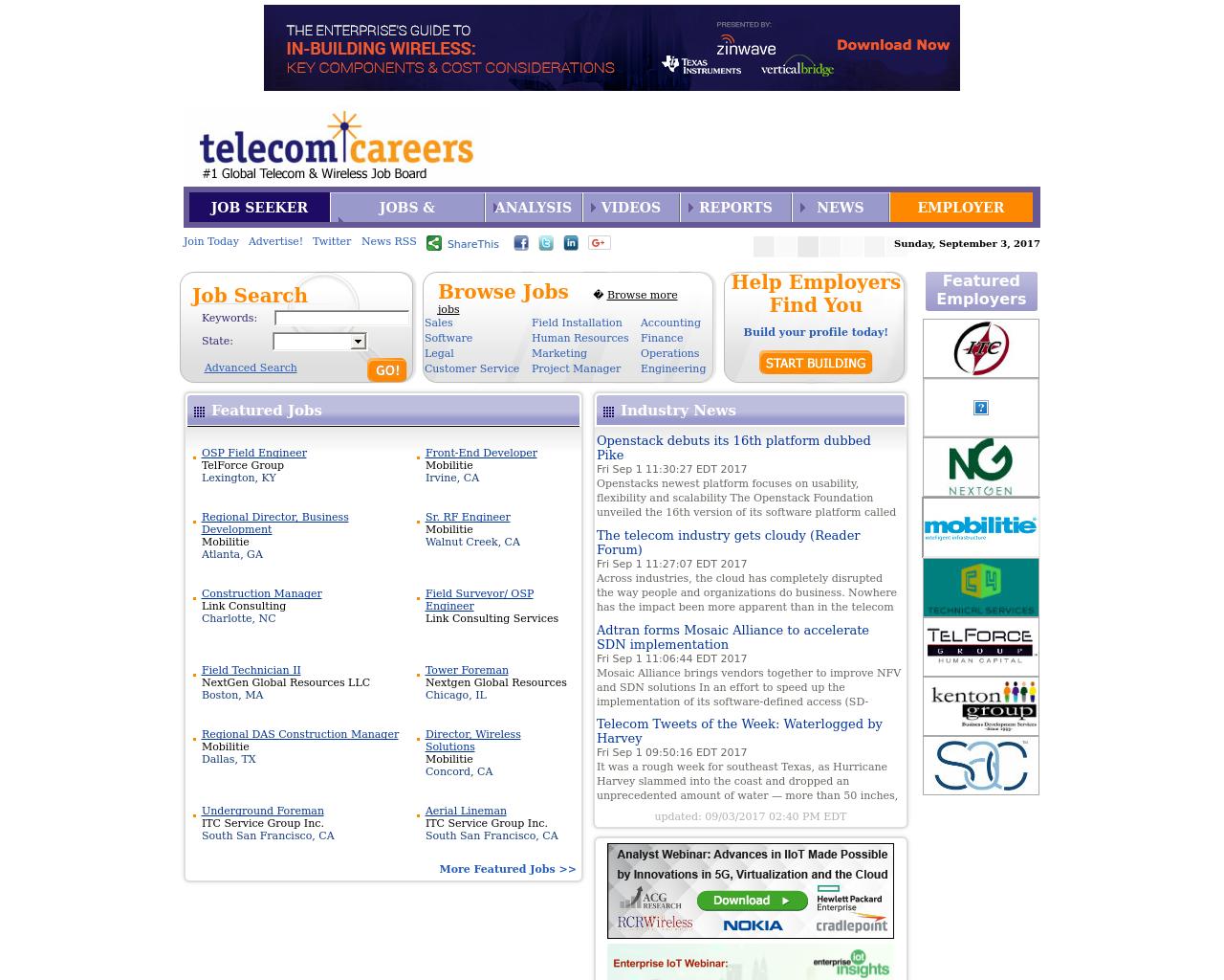 TelecomCareers-Advertising-Reviews-Pricing