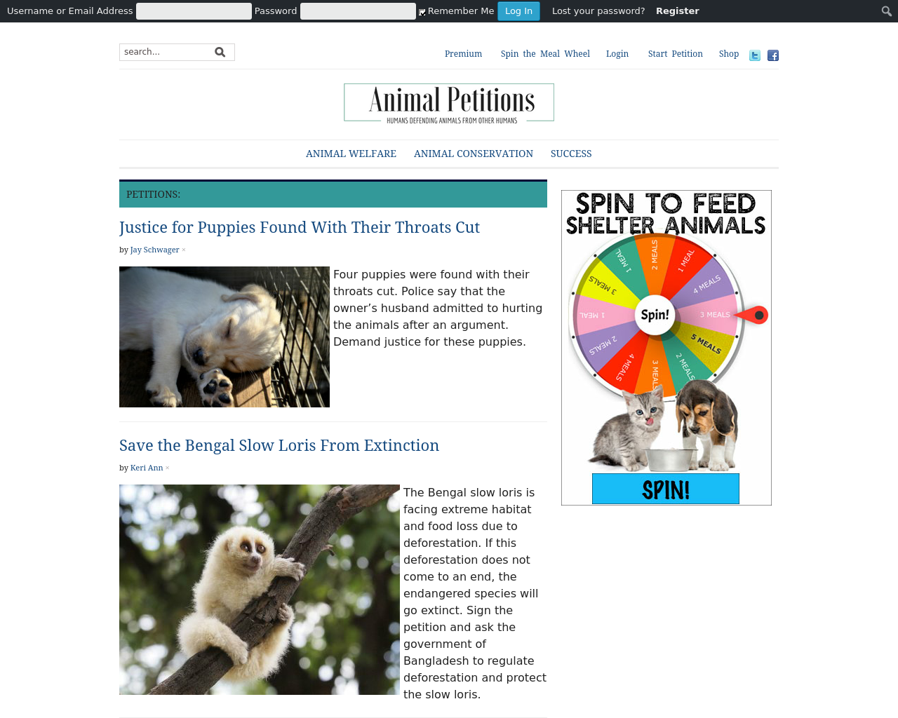 AnimalPetitions-Advertising-Reviews-Pricing