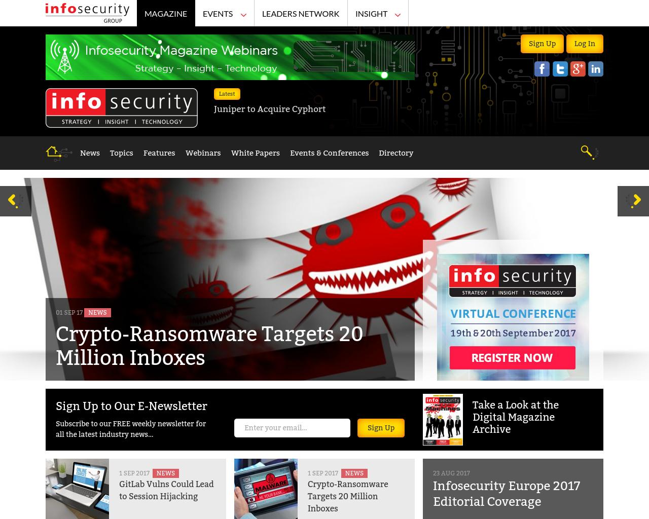 Infosecurity-Advertising-Reviews-Pricing