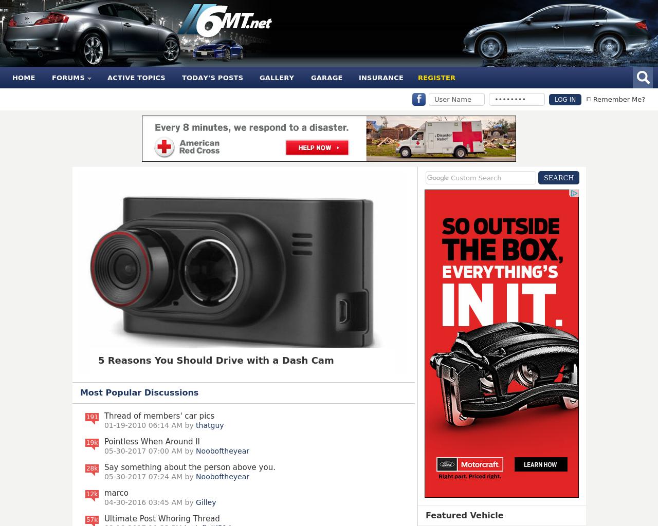 6MT.net-Infiniti-G35/G37/GTR-Advertising-Reviews-Pricing
