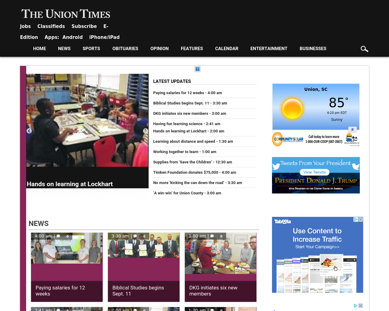 The-Union-Times-Advertising-Reviews-Pricing