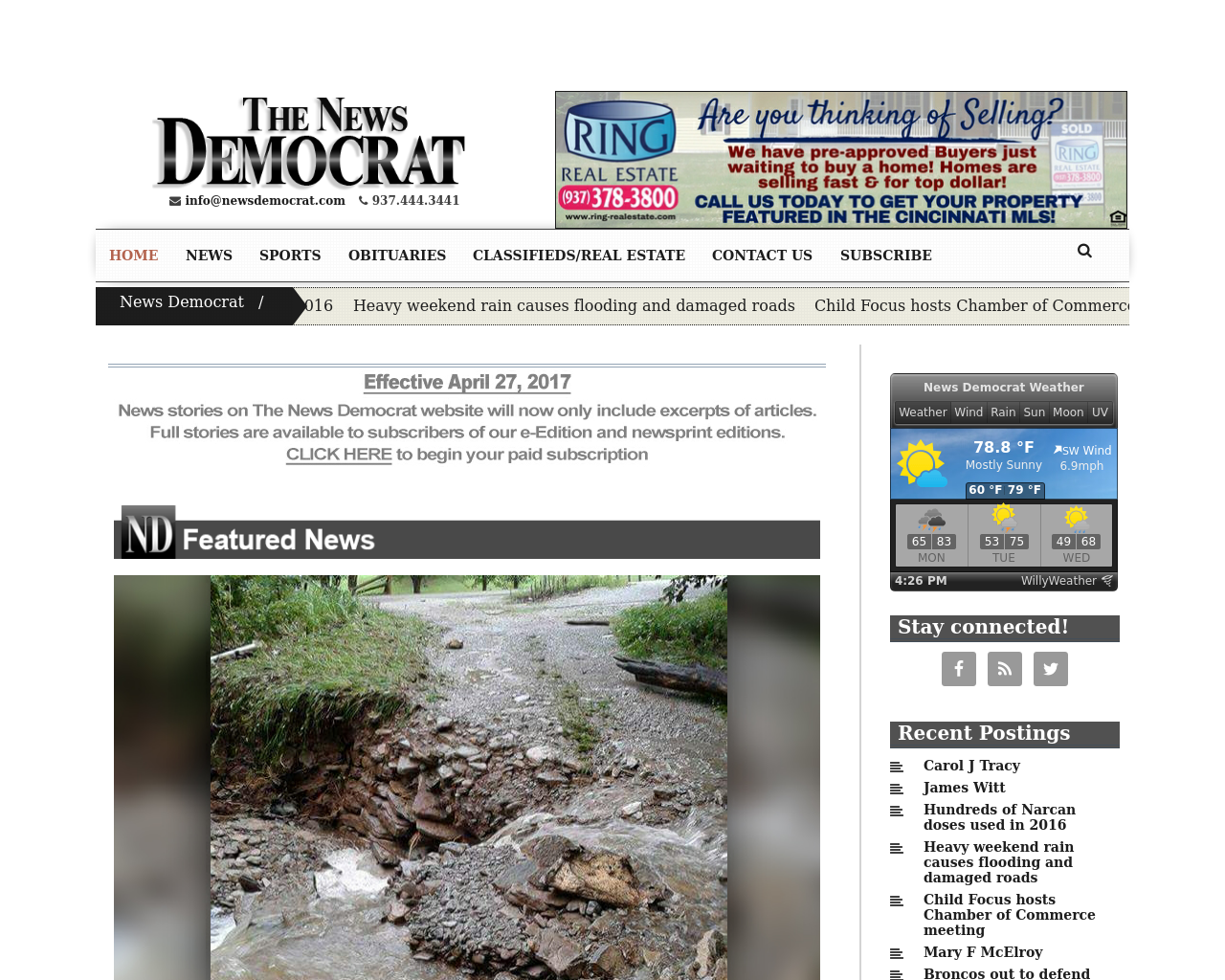 News-Democrat-(Civitas-Media)-Advertising-Reviews-Pricing