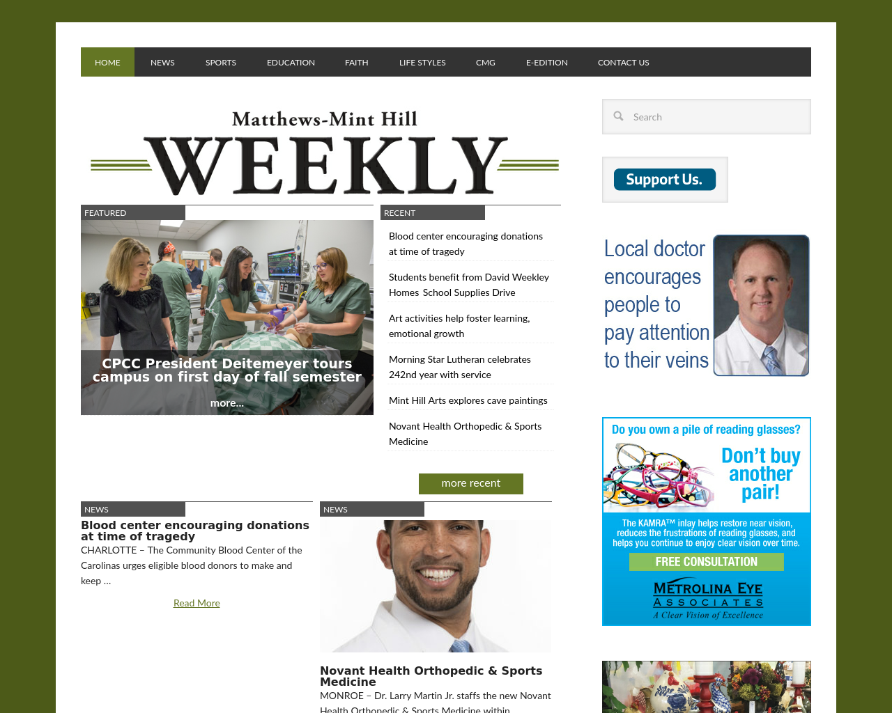 Matthews-Mint-Hill-Weekly-Advertising-Reviews-Pricing