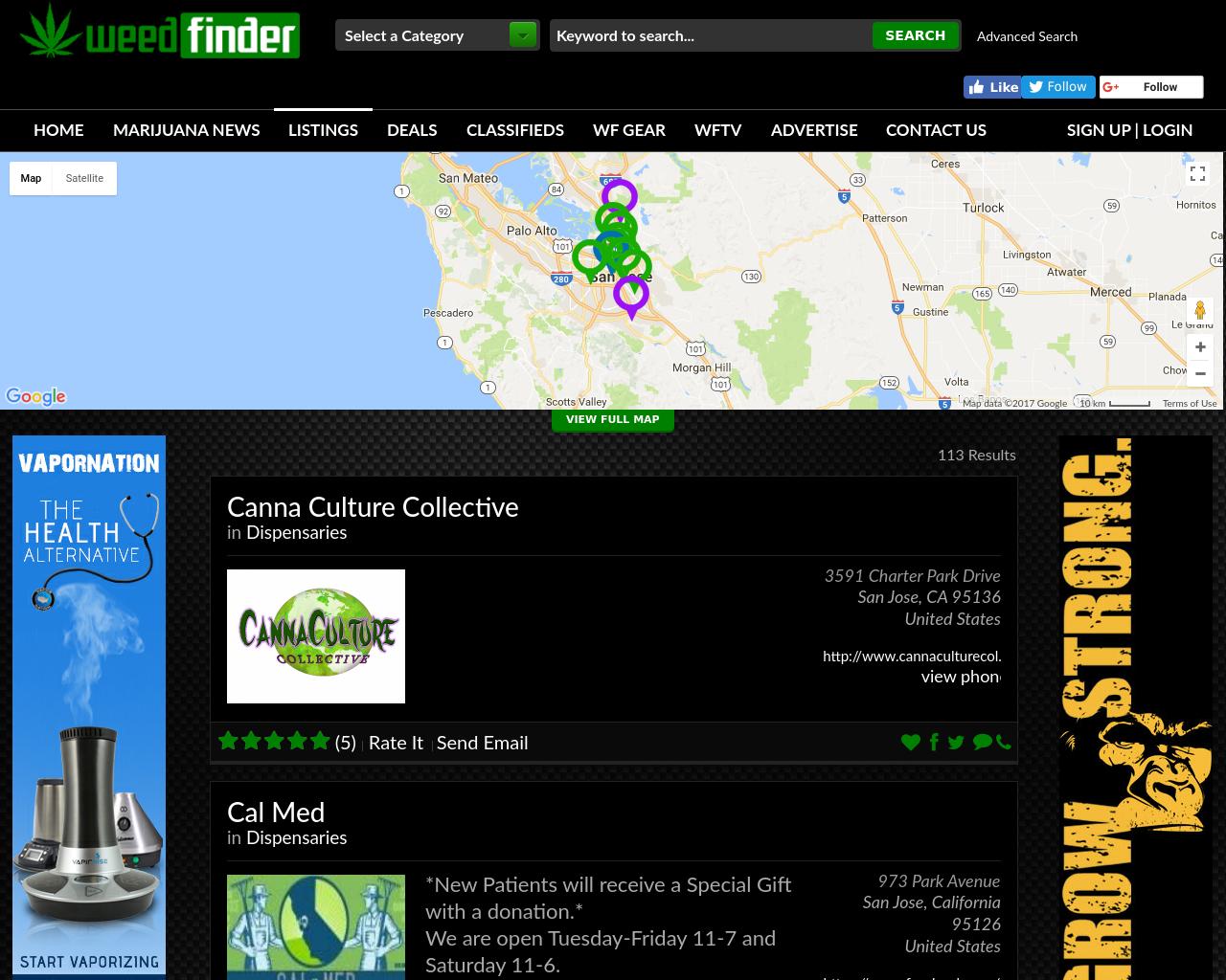 Weed-Finder-Advertising-Reviews-Pricing