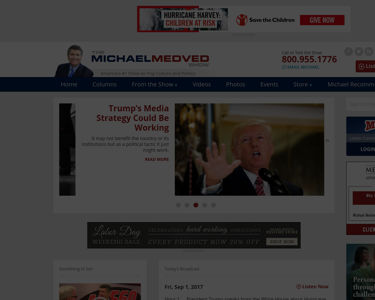 The-Michael-Medved-Show-Advertising-Reviews-Pricing